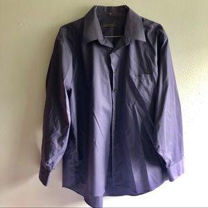 Blue Geoffrey Beene dress shirt! XXL